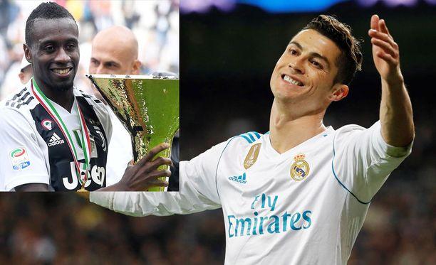 Cristiano Ronaldo ja Blaise Matuidi pääsevät harjoittelemaan yhdessä Juventuksen väreissä 30. heinäkuuta alkaen.
