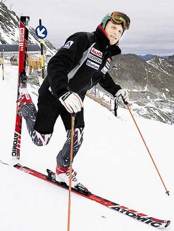 Kalle Palander on lähdössä maailmancupiin heti avauksessa.
