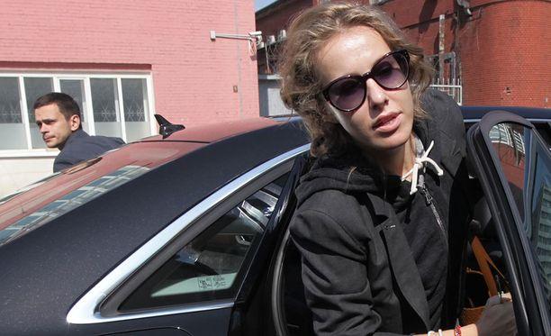 Ksenija Sobtshak jätti Venäjän FSB:n neuvosta.