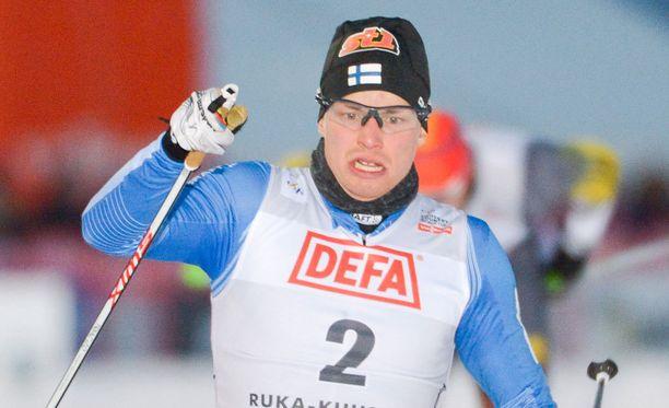Martti Jylhä putosi välieristä maalikamerakuvien perusteella.