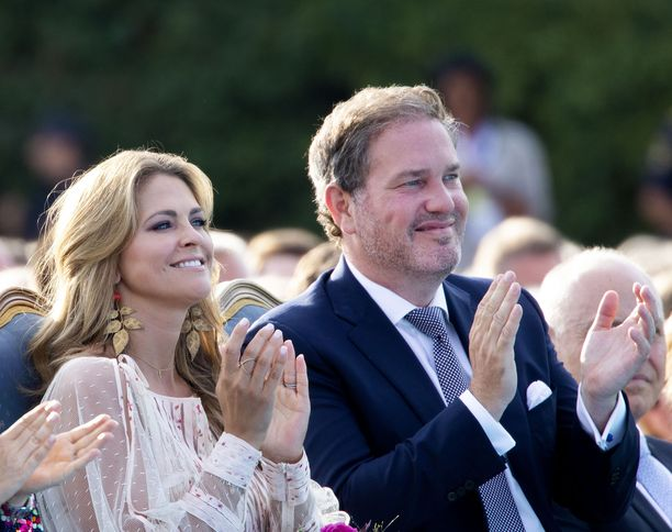 Prinsessa Madeleine ja Chris O'Neill viihtyvät Yhdysvalloissa hyvin.