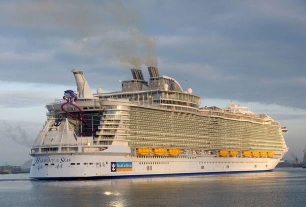 Harmony of the Seas on tämän hetken suurin risteilyalus.