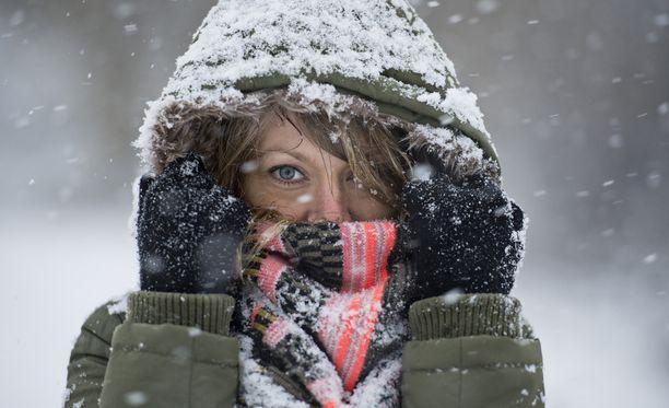 Tällä viikolla etelässäkin saadaan tietää, miltä kunnon talvi tuntuu.