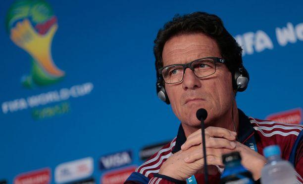 Fabio Capello kielsi joukkueeltaan sosiaalisen median.
