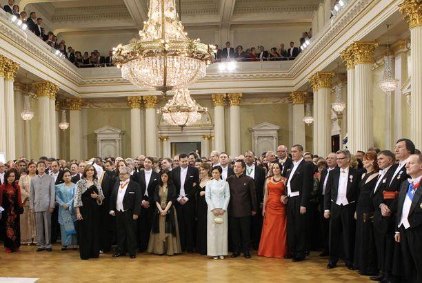 Enimmillään Linnan juhlien tv-lähetys keräsi yli 2 miljoonaa katsojaa.