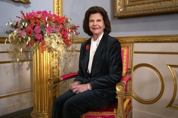 Kuningatar Silvia täytti joulukuussa 77 vuotta.