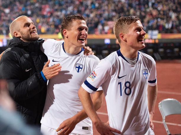 Suomi tippui Fifan rankingissa yhden sijan.