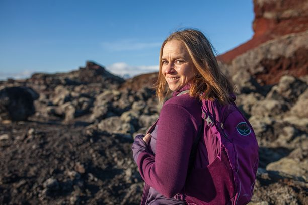 Satu Rämö muutti Islantiin kymmenisen vuotta sitten.