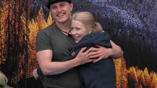 Pekka ja Katja ovat lähentyneet BB-talossa.