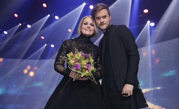 Norma John edustaa Suomea Euroviisuissa.