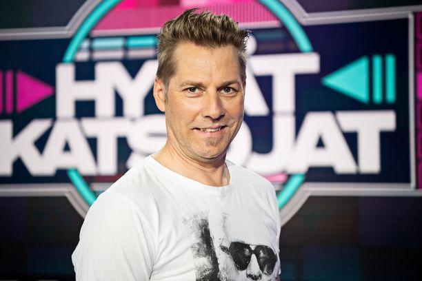 Kuvassa Harri Syrjänen toukokuussa 2019.