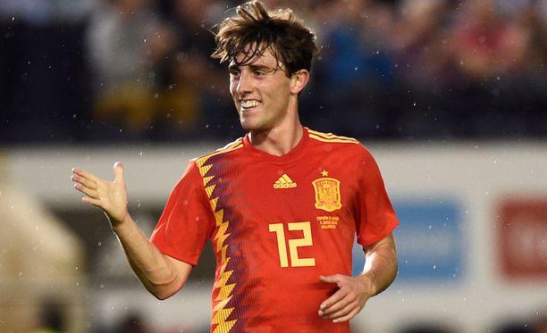 Tuore Real Madrid -puolustaja Álvaro Odriozola nähtiin myös Espanjan riveissä MM-kisoissa.