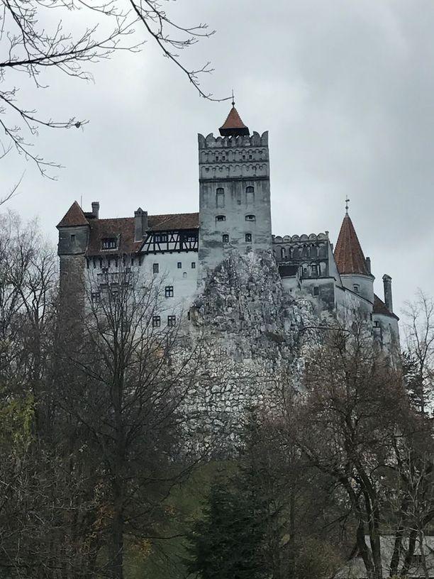 Branin linna on Dracula-turismin keskittymä.