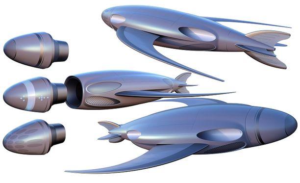 Torpedot voi varustaa erilaisilla taistelukärjillä.