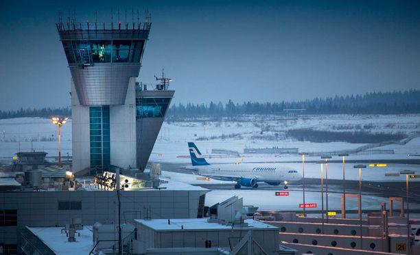 Finavia ylläpitää ja kehittää mm. Helsinki-Vantaan lentoasemaa.