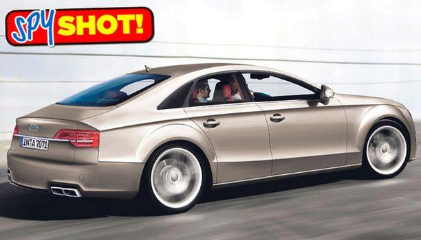 PUUTTUVA PALA Audi A6:sen ja A8:n väliltä puuttuu vielä tämä – Audi A7. Esitellään syksyllä 2009.