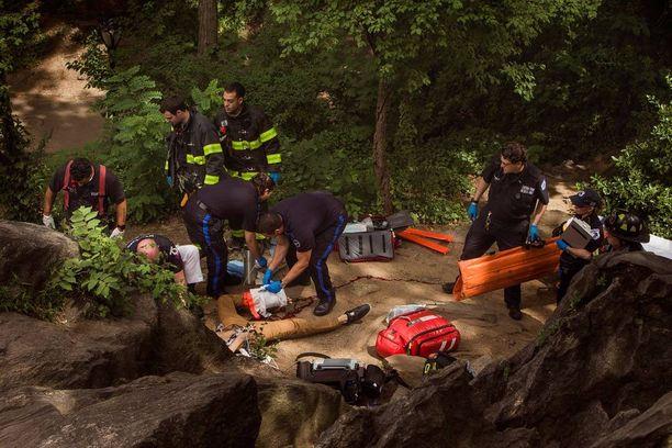 Nuori turisti loukkaantui vakavasti räjähdyksessä sunnuntaina.