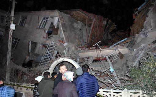 Turkissa voimakas maanjäristys – ainakin 18 kuollut