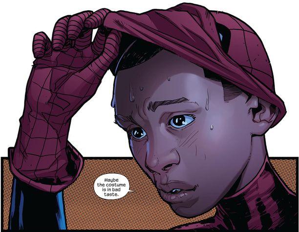 Miles Morales korvasi keskiviikkona Peter Parkerin Hämähäkkimiehenä.