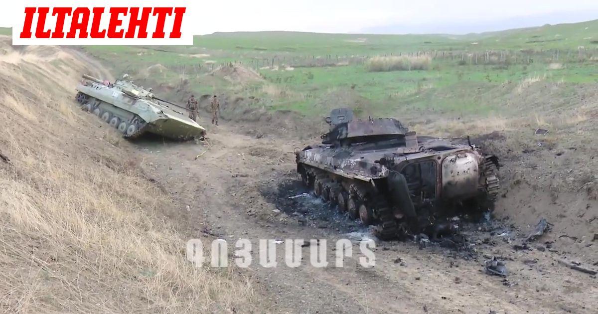 Armenian ja Azerbaidžanin välillä pitkään kytenyt konflikti leimahti...