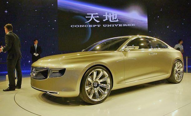Onko tässä Volvon tulevaisuuden suunta? Geelyn omistukseen siirtynyt Volvo esitteli vuonna 2011 Shanghaissa ensimmäisen konseptimallinsa - silloin omistaja Shufu oli ilmoittanut, että Volvon pitää valmistaa pitkiä limousineja.