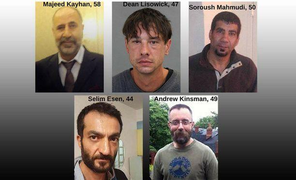 Murharyhmän julkaisema kuva uhreista