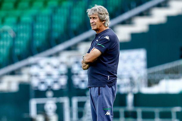 Manuel Pellegrini luotsaa Real Betisiä.