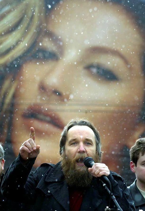 Aleksandr Dugin on mystikko ja politologi, joka ajaa Euraasian unionin asiaa.
