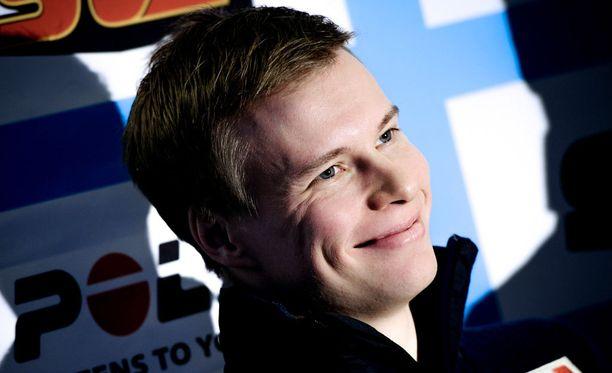 Matti Heikkinen osaa olla pelimies haastatteluissa.