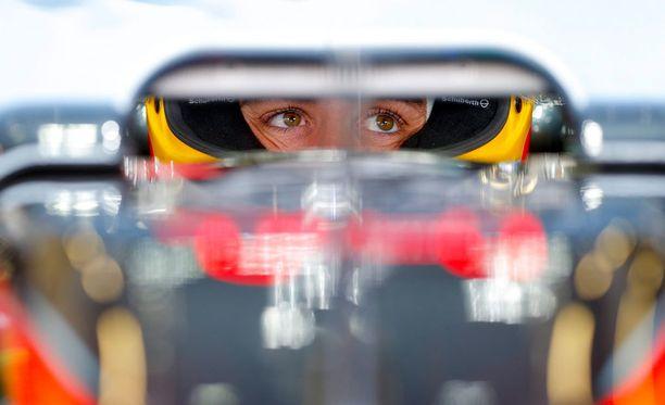 Fernando Alonso yrittää pitää malttinsa.
