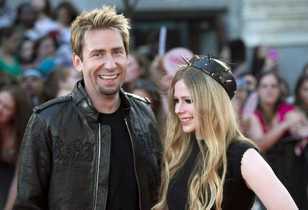 Avril Lavignen ja Chad Kroegerin tiet erkanivat.