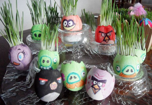 Jaanan kotoa löytyy koko Angry Birds -poppoo.