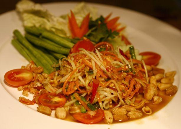 Thaimaalainen kasvisravintola ei ollut edes auki murhan aikoihin. (Kuvituskuva)