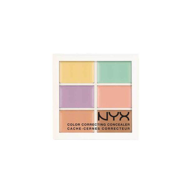 NYX Cosmeticsin Color Correcting Concealer -peiteväripaletista löydät kaikki tarvitsemasi sävyt, 14,70 e
