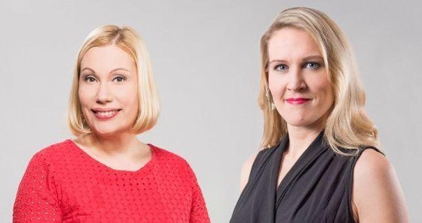 Uudessa ajankohtaisohjelmassa aloittavat syksyllä Sanna Ukkola ja Marja Sannikka.