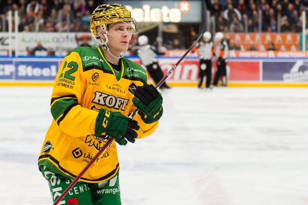 Ilveksen Arttu Ruotsalainen, 21, teki Buffalon kanssa NHL-diilin.