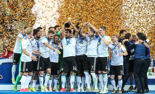 Menestys näkyy harrastajamäärissä. Sunnuntaina Saksa voitti Confederations cupin.