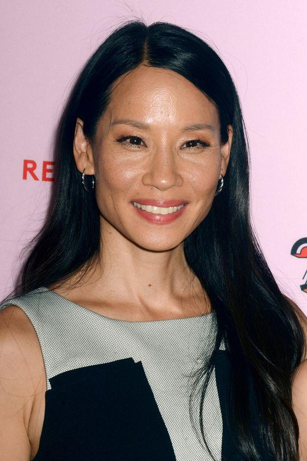Lucy Liu on totuttu näkemään mustissa hiuksissa.