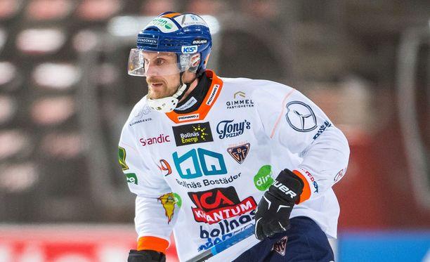 Patrik Nilsson pelasi maaliskuussa Ruotsin pääsarjan finaalissa ja sairastui pian sen jälkeen.