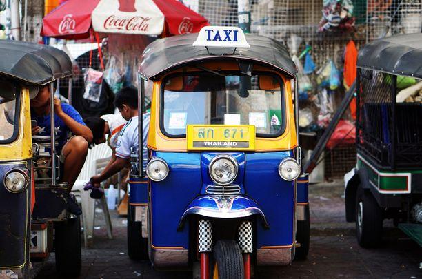Liiku Bangkokissa kuin paikallinen: käytä mopotaksia!