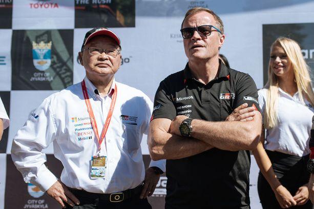 Koei Sagan ja Tommi Mäkisen luotsaama Toyota on yksi niistä neljästä WRC-tallista, jotka vievät lajin MM-soihtua tällä hetkellä eteenpäin.