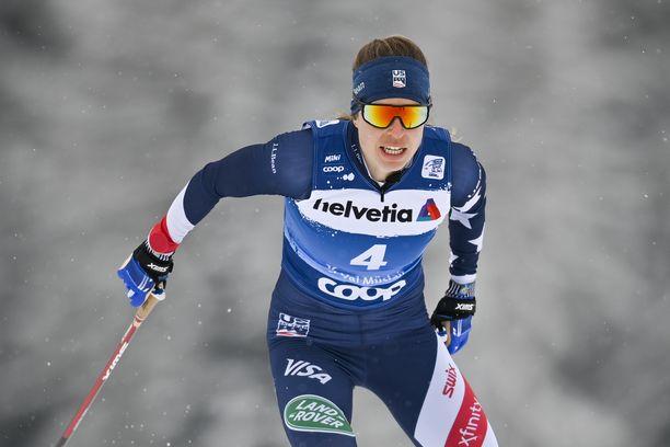Rosie Brennan on voittanut urallaan yhden maailmancupin osakilpailun. Nyt hänellä on mahdollisuus koko Tourin voittoon.