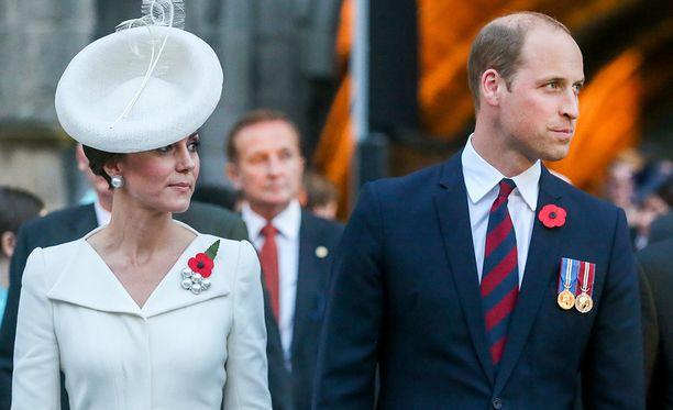 Kate ja William vierailevat ensimmäistä kertaa Ruotsissa.