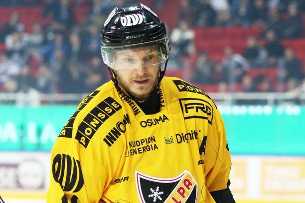 Jaakko Rissanen oli perjantai-iltana pelipäällä.