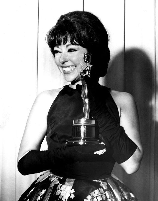 Näyttelijä juhli Oscar-palkintoaan vuonna 1962 samassa puvussa kuin vuonna 2018.