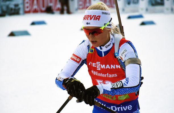 Mari Eder löi läskiksi Sloveniassa.