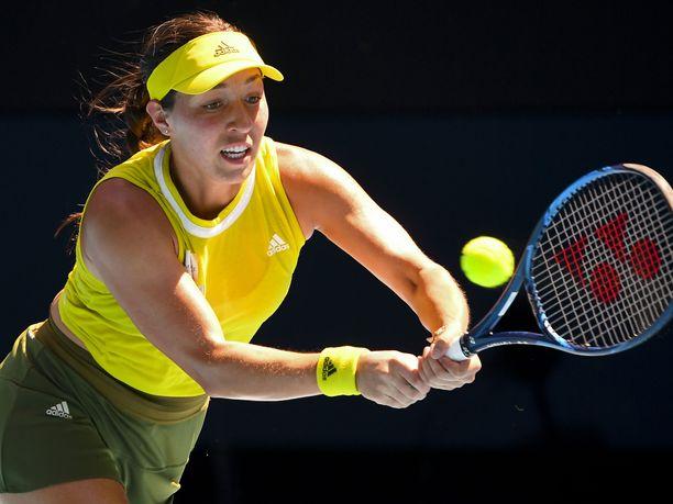 Jessica Pegula eteni Australiassa ensimmäistä kertaa urallaan Grand Slam -turnauksen puolivälieriin.