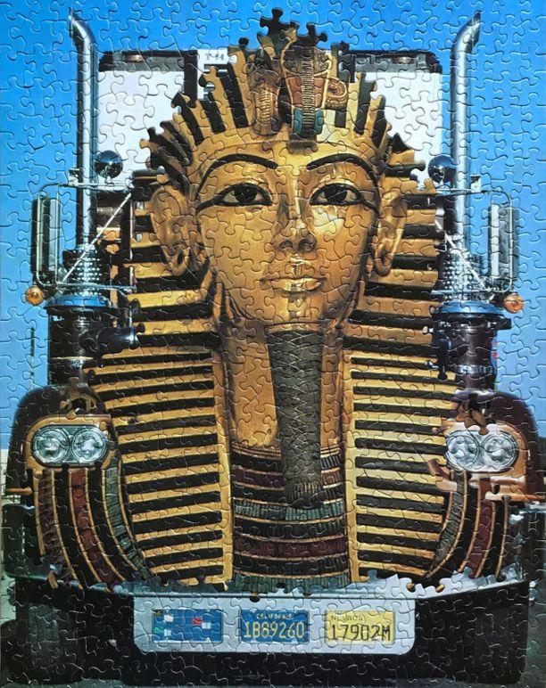 """""""Teiden kuningas"""" on tehty yhdistämällä kaksi 1970-luvulla tehtyä palapeliä."""