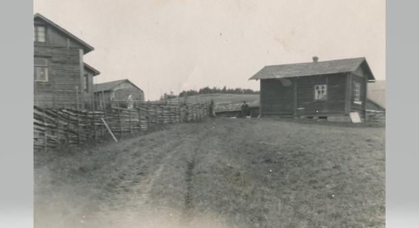 Torppa 1900-luvun alussa.