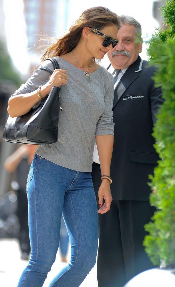 Katie Holmes erosi Tom Cruisesta vuonna 2012.